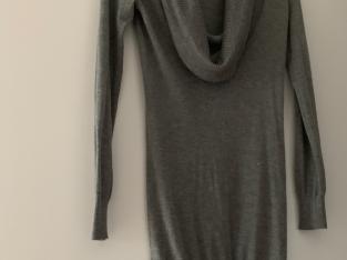 Strickpullover-Kleid
