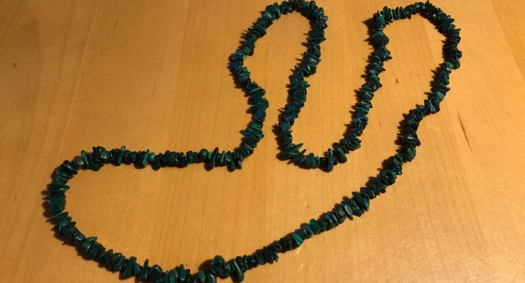 Malachit Halskette