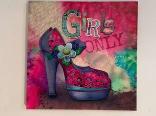 Wandbild : Girls Only