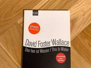 Das hier ist Wasser von David Foster Wallace